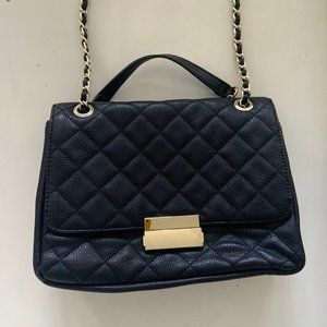 Quilted Vegan Leather Gold Chain Purse Chanel Dupe